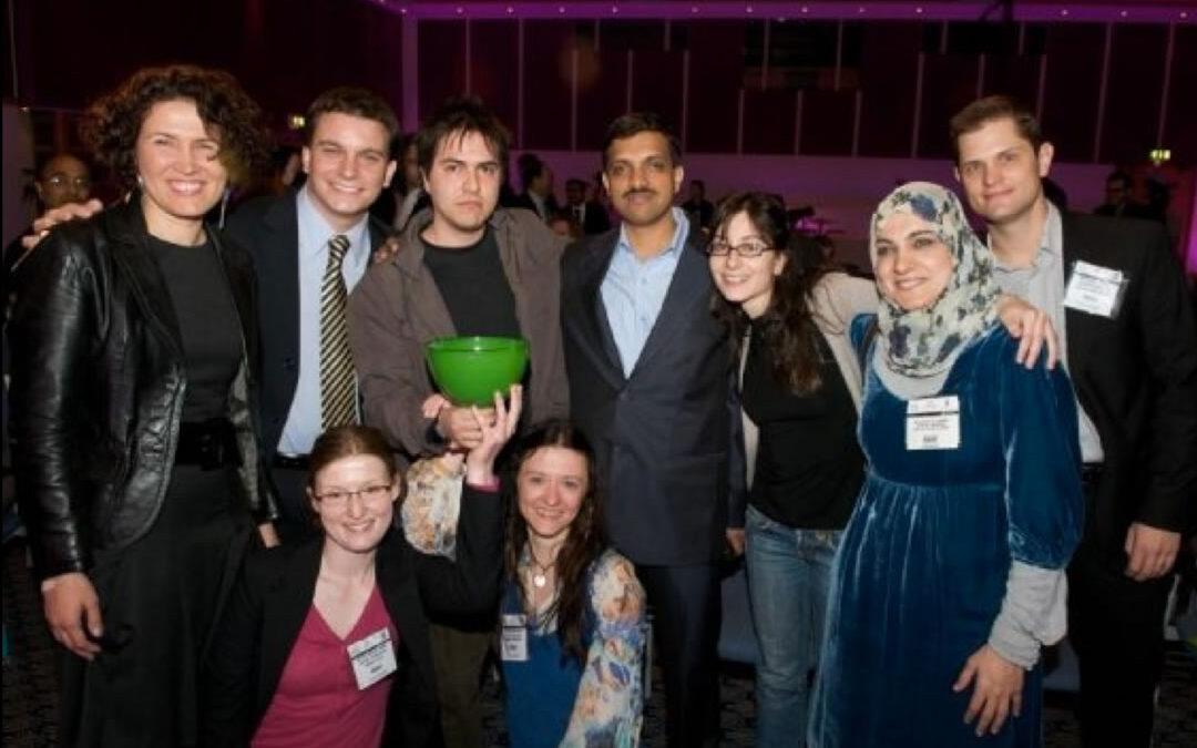 CEO de .Puntoaparte recibe premio en Reino Unido