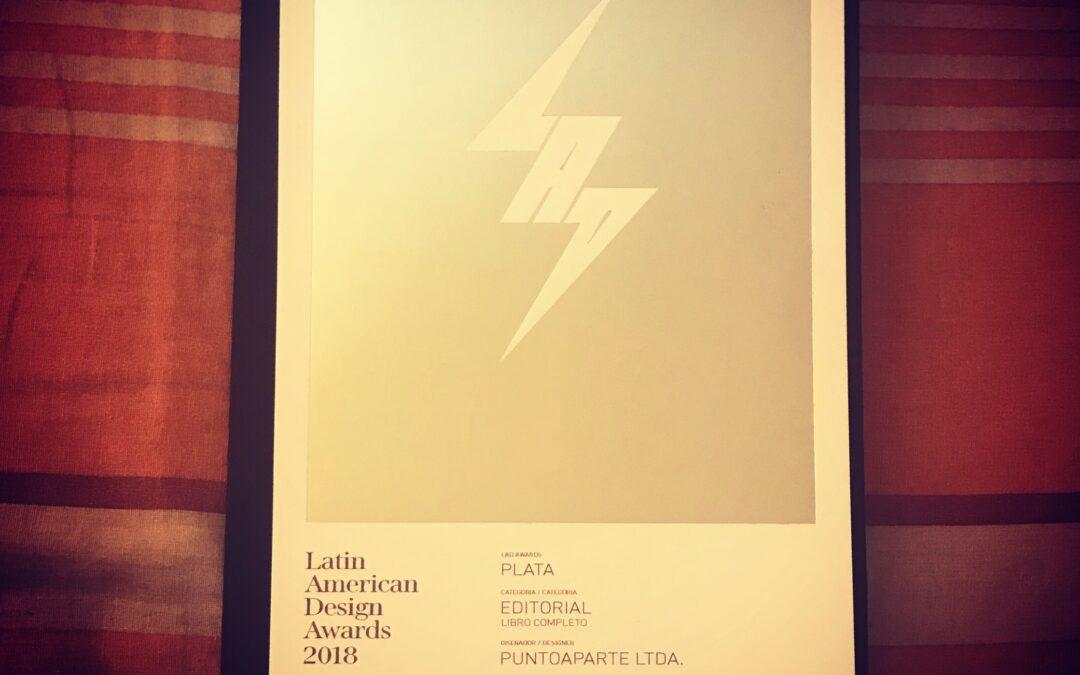 .Puntoaparte gana galardón de plata en premio latinoamericano de diseño